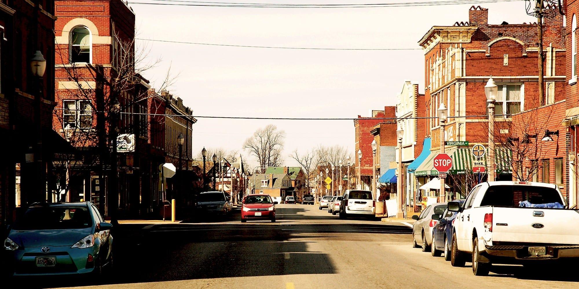 Meramec Street in Downtown Dutchtown.
