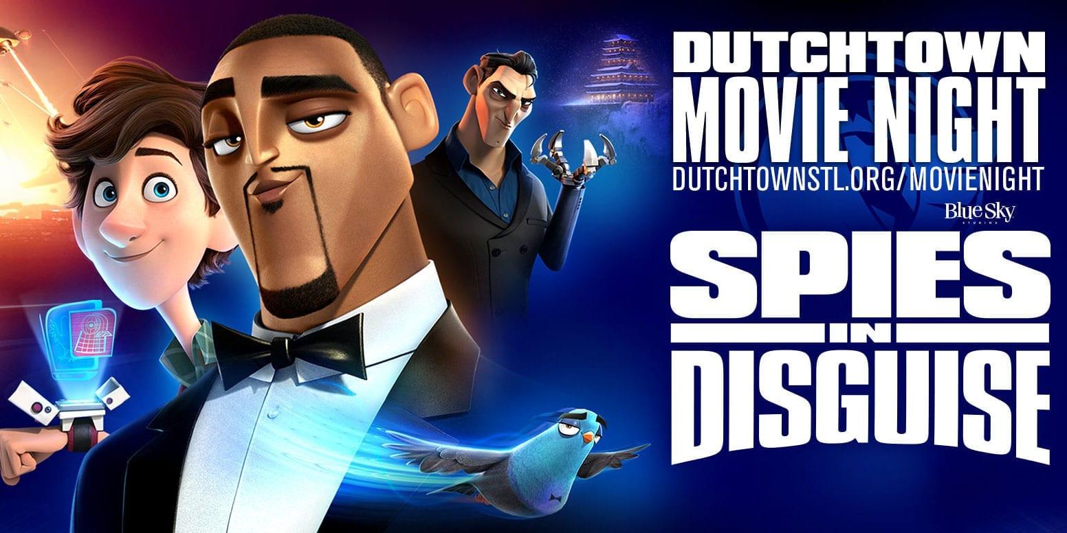Dutchtown Movie Night: Spies in Disguise.