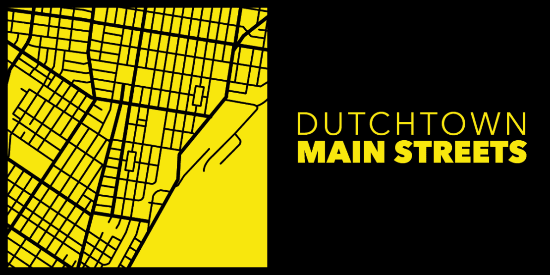 Logotipo de Dutchtown Main Streets.