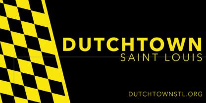 Dutchtown bumper sticker design.