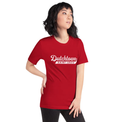 تي شيرت للجنسين من Team Dutchtown على امرأة.