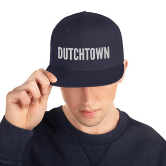 Dutchtown snapback hat.