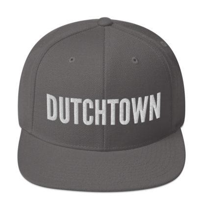 Dutchtown snapback hat.
