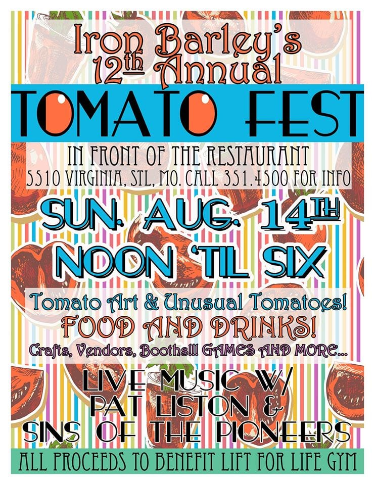 Tomato Fest This Sunday