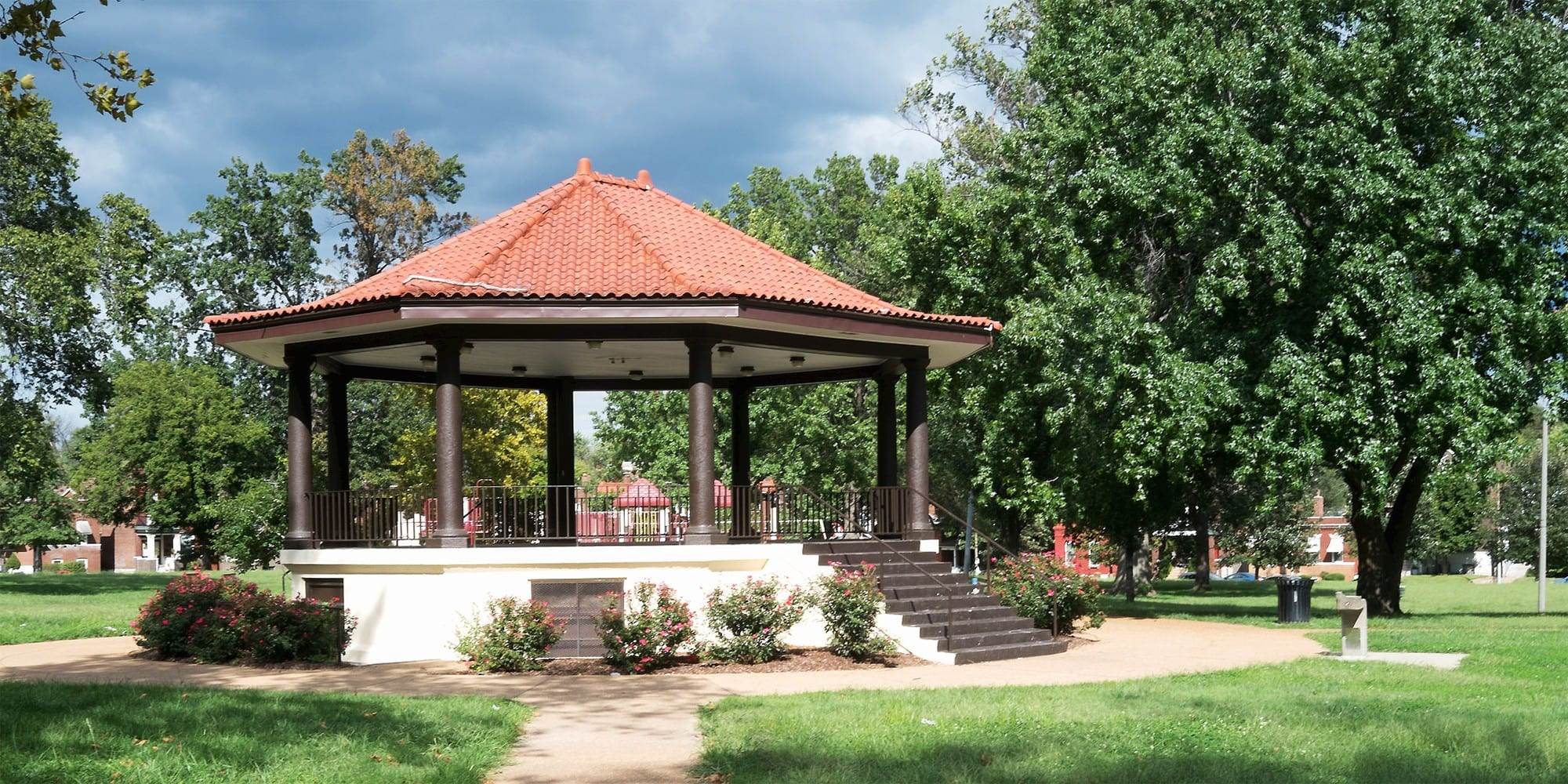 Gravois Park pavilion. Photo by Paul Sableman.