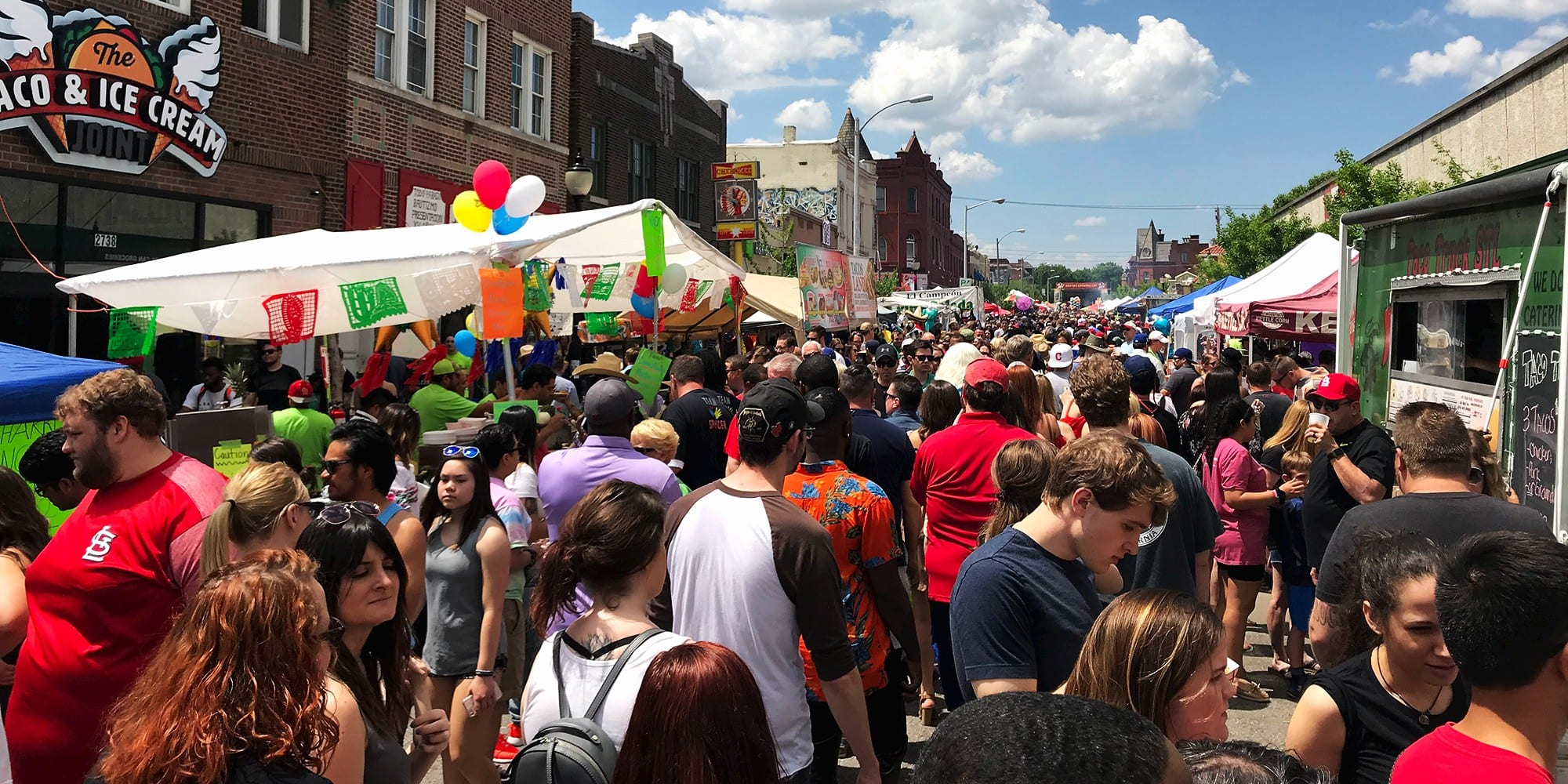 Cinco de Mayo on Cherokee Street, May 5th, 2018. Photo by Nick Findley.