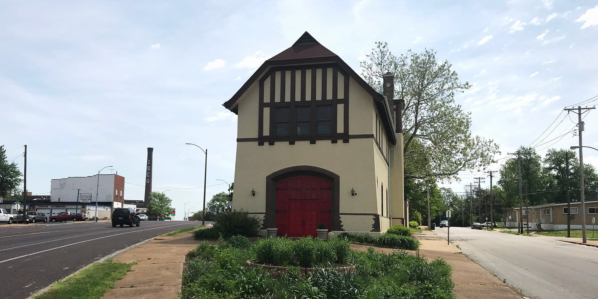 The South Broadway Firehouse in Marine Villa. Photo by Nick Findley.