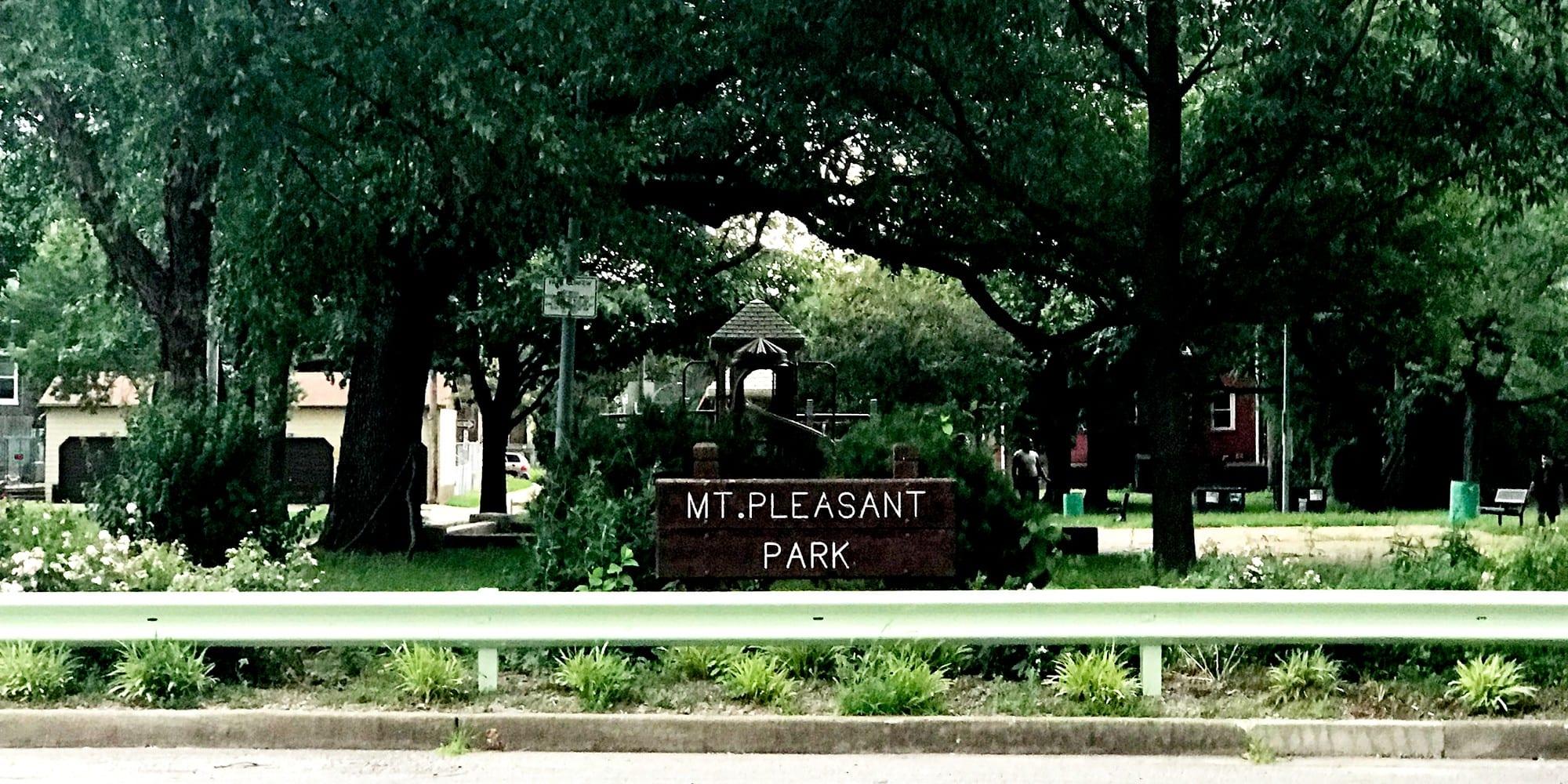 Mount Pleasant Park.