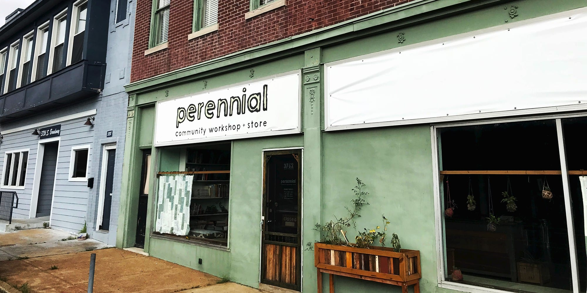 Perennial's storefront on South Broadway.