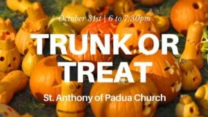 St. Anthony's Trunk or Treat