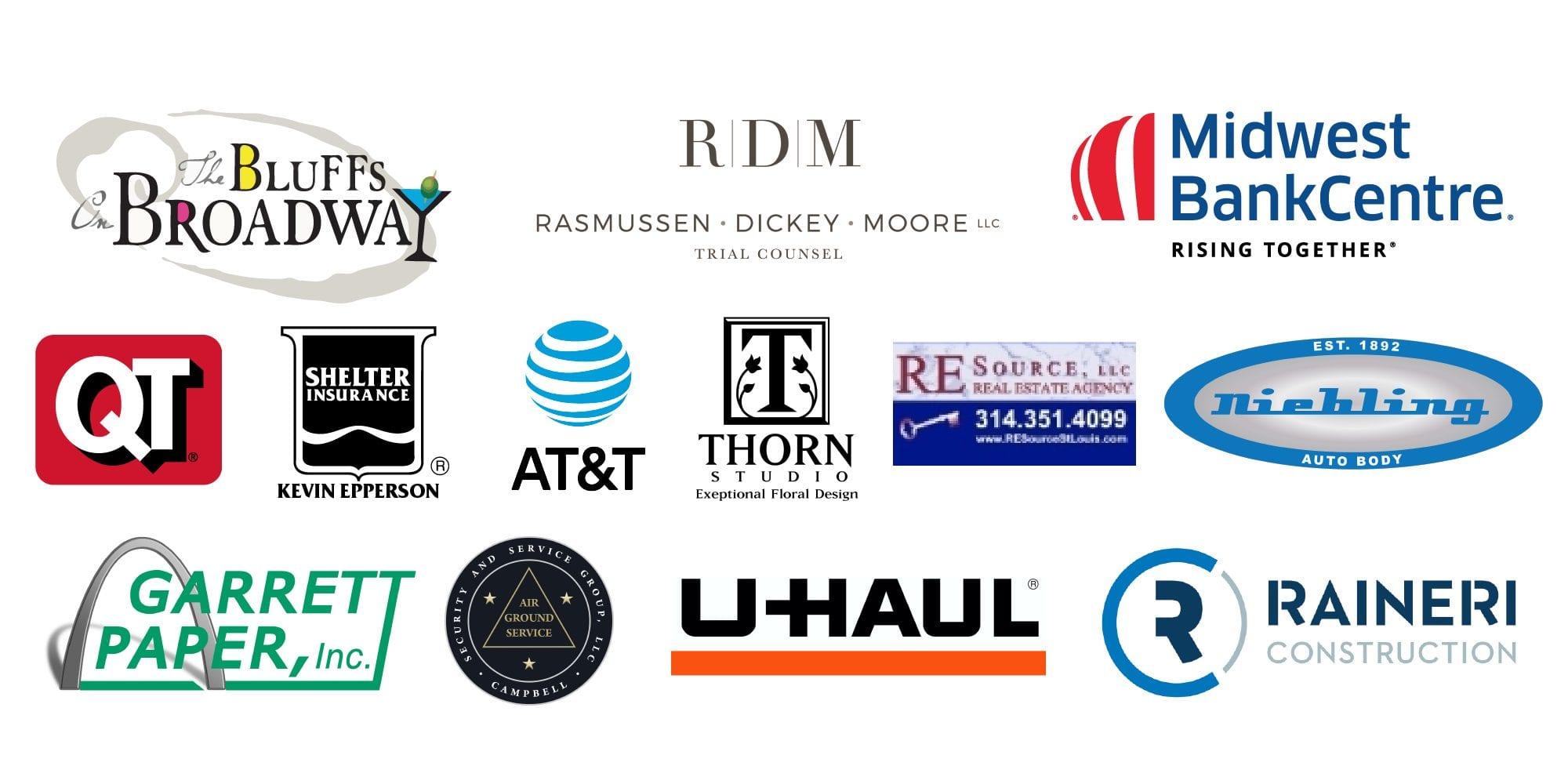Dutchtown Karneval Sponsor Logos.