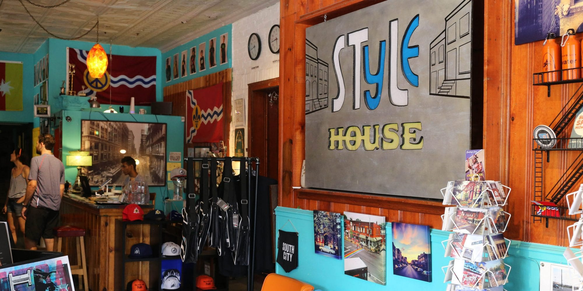 The interior of STL STyLe House on Cherokee Street.