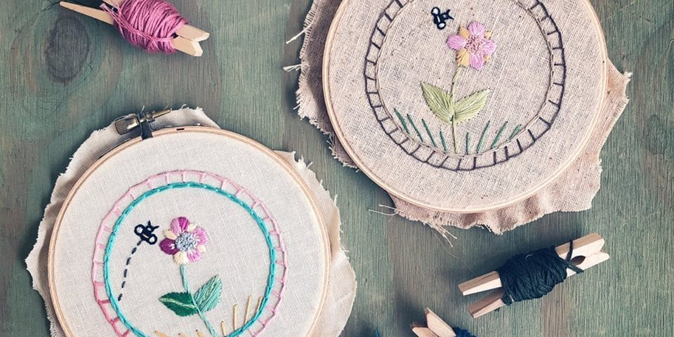 Intro to Embroidery at Perennial
