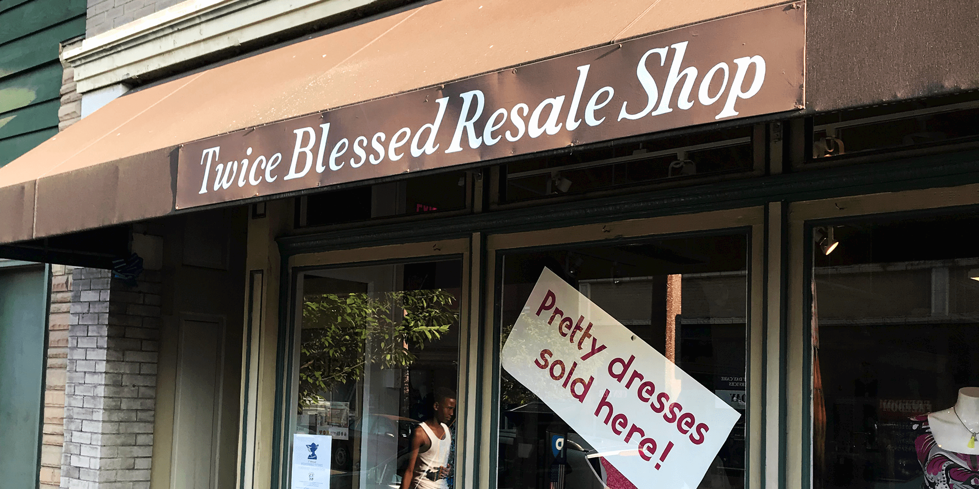 Twice Blessed Resale Shop on Meramec Street in Downtown Dutchtown.