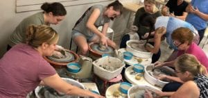Clay Date Night at South Broadway Art Project.