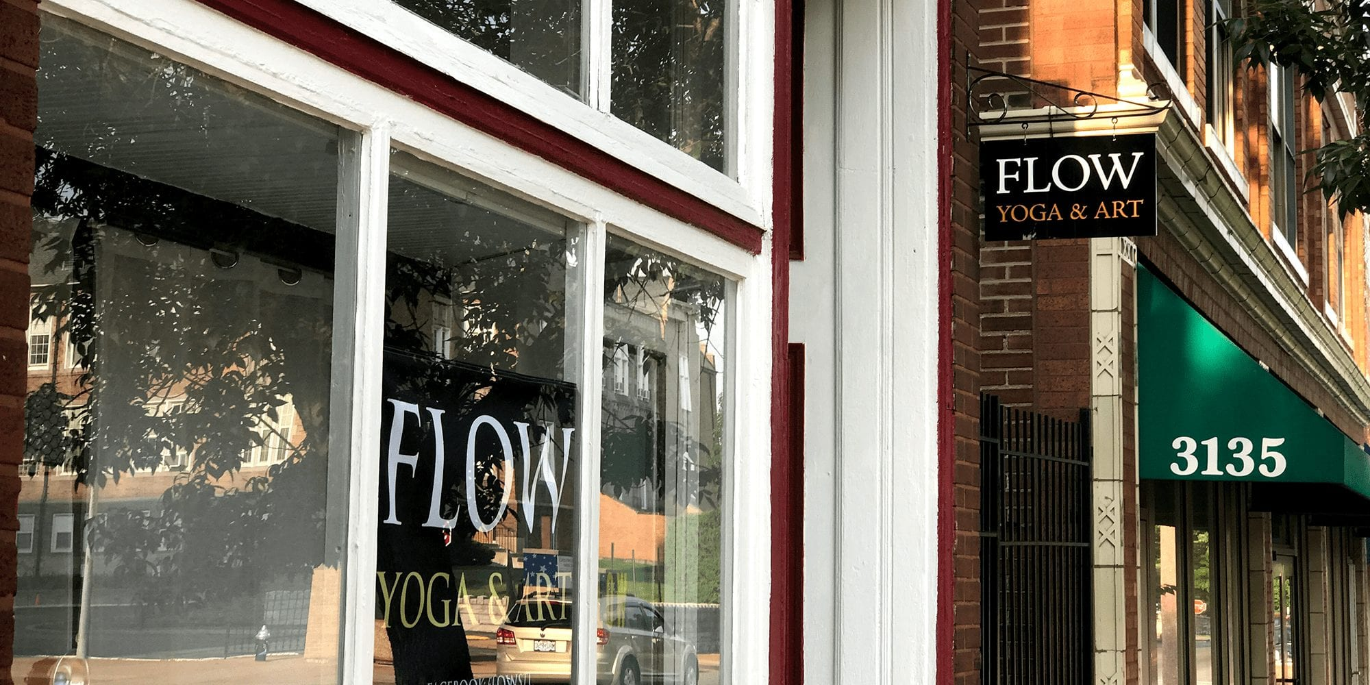 Flow Yoga and Art on Meramec Street in Dutchtown.