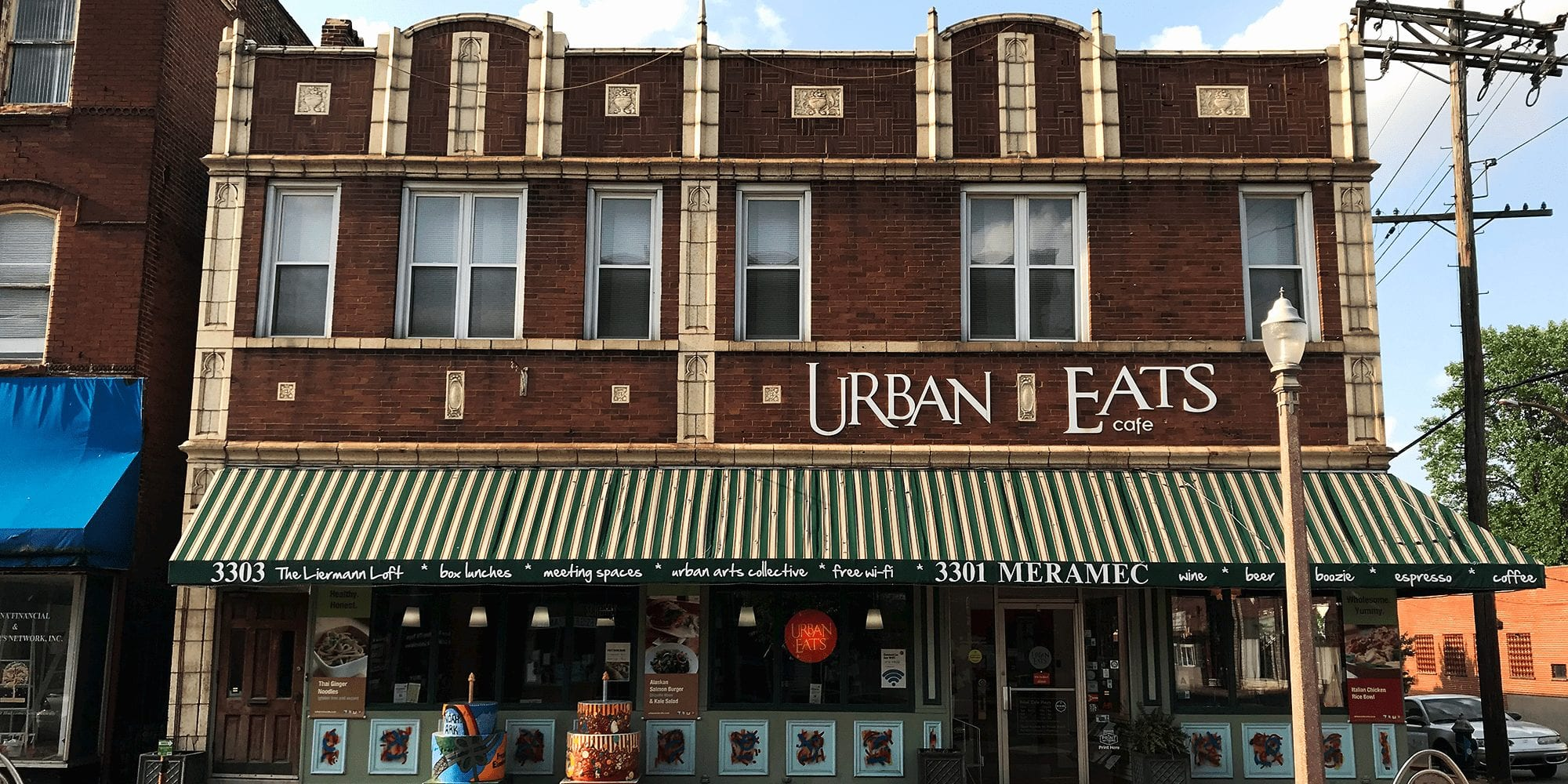 Urban Eats Café at 3301 Meramec in Dutchtown.