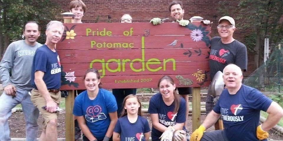 Pride of Potomac Garden.