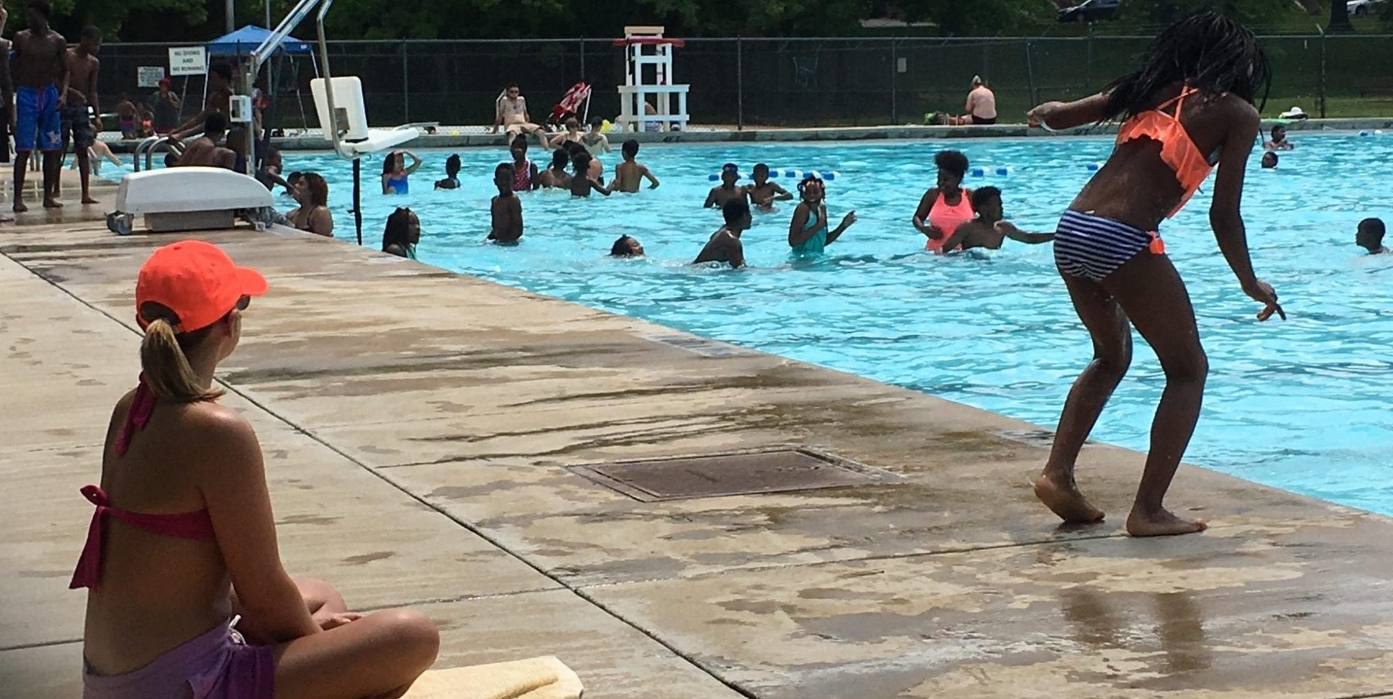 Marquette Park Pool Opening and More