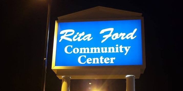 Rita Ford Community Center at 3353 California.