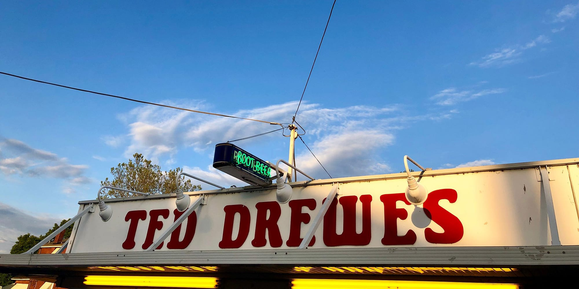 Ted Drewes Frozen Custard in Dutchtown, St. Louis. Photo by Tom Lampe.