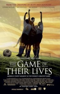 """The Game of Their Lives"" movie poster."