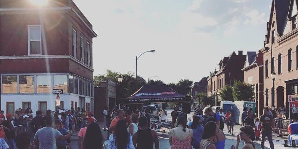 Fiestas Patrias on Cherokee Street.