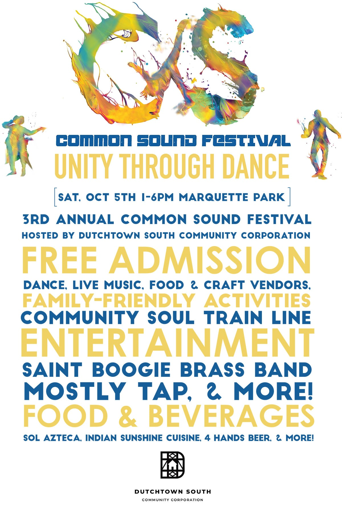 Flyer for Common Sound Festival 2019.