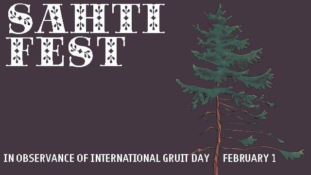 Sahti Fest, in observance of International Gruit Day on February 1st.