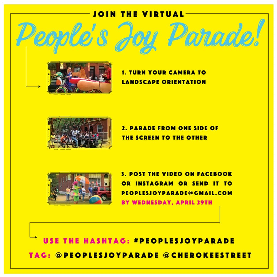 Join the Virtual People's Joy Parade.