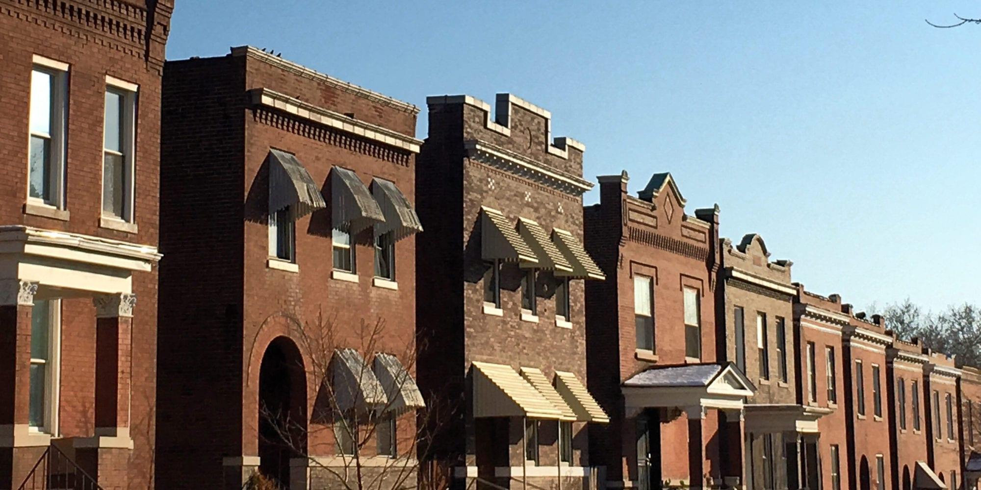 Dutchtown homes. Photo by Josh Burbridge.