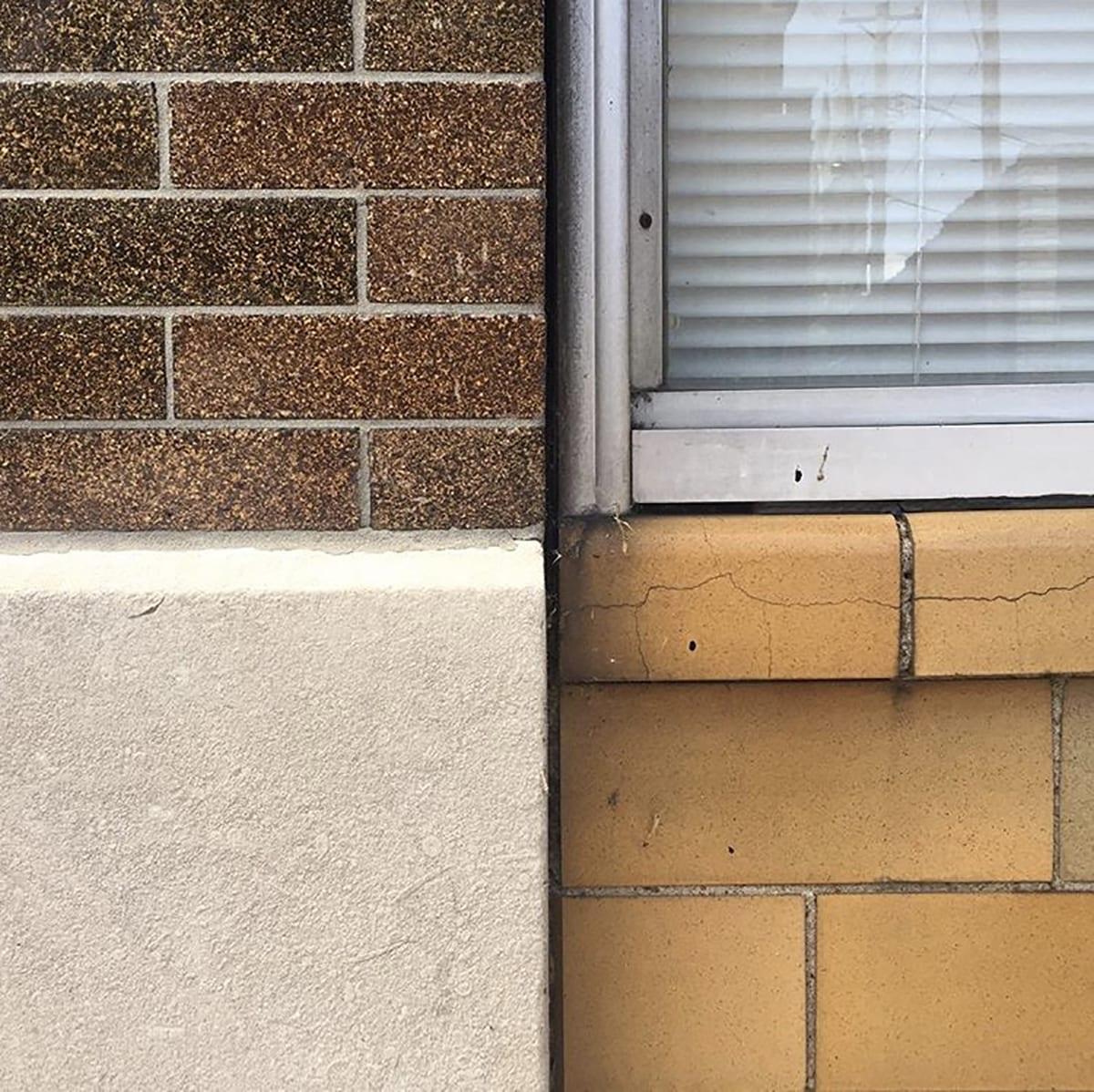 Bricks and details in Dutchtown, St. Louis. Photo by Josh Burbridge.